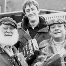 A fire broke out at a block of flights featured as the Trotters' home in Only Fools And Horses (UKTV/PA)
