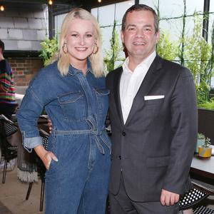 Lorna Weightman and John Healy at the launch of The Garden Room at Suesey Street on Dublin's Fitzwilliam Place. Picture: Leon Farrell/Photocall Ireland