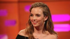 Killing Eve's Jodie Comer revealed a bizarre fan request to strangle her (Isabel Infantes/PA)