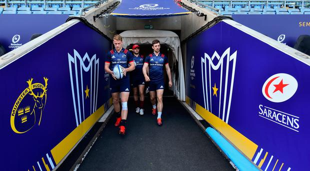 Munster backing Darren Sweetnam to step into the breach to ease 'big loss' of Keith Earls