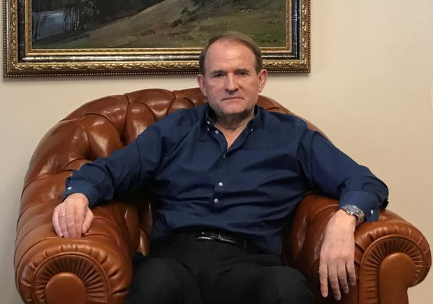 Ukraine politician Viktor Medvedchuk. Photo: Reuters/Andrew Osborn