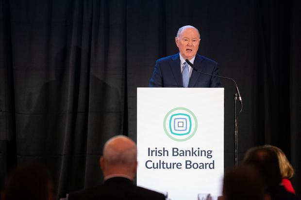 Aiming for culture change: IBCB chairman Mr Justice John Hedigan. Photo: Naoise Culhane