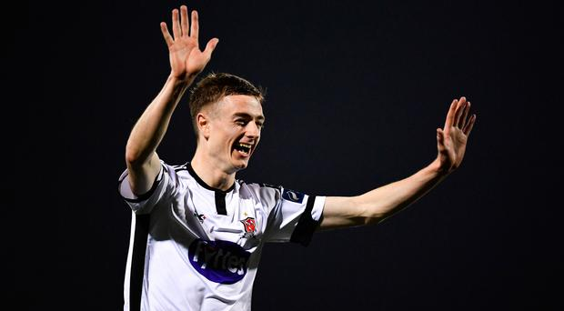 Dundalk's Daniel Kelly bags hat-trick as Lilywhites pick up much-needed win over Finn Harps