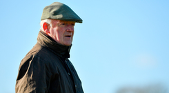 Twelve-time champion trainer Mullins has a strong septet among the 30 runners. Photo by Seb Daly/Sportsfile