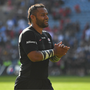 Billy Vunipola of Saracens applauds supporters after the Heineken Champions Cup Semi-Final match between Saracens and Munster at the Ricoh Arena in Coventry, England. Photo by Brendan Moran/Sportsfile