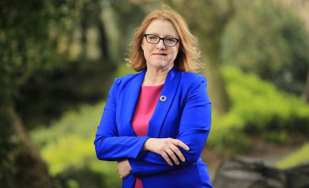 Senator Alice Mary Higgins, daughter of President Higgins, below, says the most exciting part of her job is listening, engaging and working with people. Photo: Gerry Mooney