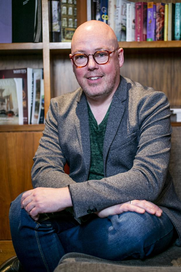 Writer John Boyne. Photo: Kyran O'Brien