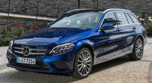 The C-Class estate, above, is probably one of the best cars in the world