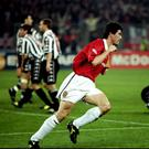 Roy Keane produced a famous performance in the win over Juventus.