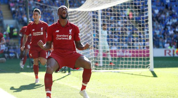 Liverpool put pressure on Man City ahead of defining derby as second half double secures win in Cardiff