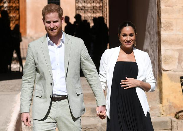 Harry and Meghan. Photo: Facundo Arrizabalaga/Pool via REUTERS