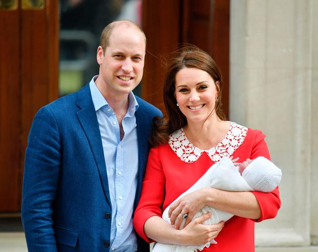 Britain's Prince Louis of Cambridge is about to celebrate his first birthday. Photo: Dominic Lipinski/PA Wire