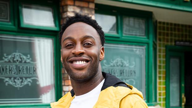 Ryan Russell will play Michael Bailey in Coronation Street (ITV/PA)STRICT EMBARGO – No Use Before 0001hrs Saturday 06/04/19Coronation StreetNew Bailey FamilyDad Edison Bailey (Trevor Michael Georges)Mum Aggie Bailey (Lorna Laidlaw)Older son Michael Bailey (Ryan Russell) Yellow JacketYounger son James Bailey (Nathan Graham).Picture contact – David.crook@itv.comPhotographer – Mark BruceThis photograph is (C) ITV Plc and can only be reproduced for editorial purposes directly in connection with the programme or event mentioned above, or ITV plc. Once made available by ITV plc Picture Desk, this photograph can be reproduced once only up until the transmission [TX] date and no reproduction fee will be charged. Any subsequent usage may incur a fee. This photograph must not be manipulated [excluding basic cropping] in a manner which alters the visual appearance of the person photographed deemed detrimental or inappropriate by ITV plc Picture Desk. This photograph must not be syndicated to any other company, publication or website, or permanently archived, without the express written permission of ITV Picture Desk. Full Terms and conditions are available on www.itv.com/presscentre/itvpictures/terms