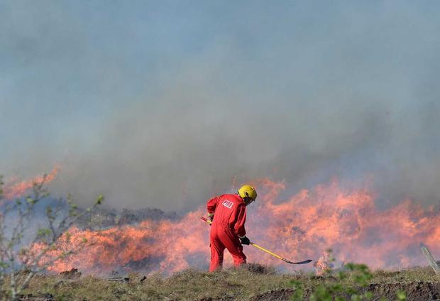 Gorse fires continue to rage in west Donegal
