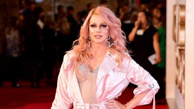 Courtney Act was part of the first same-sex couple to compete on Dancing With The Stars Australia (Ian West/PA)