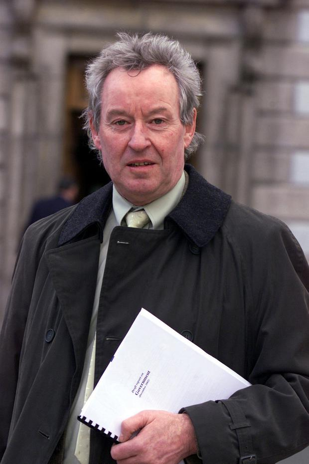 Standing down: Councillor and former TD James Breen is retiring from politics at the next local elections