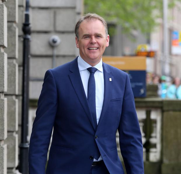 Unfinished business: Education Minister Joe McHugh. Picture: Tom Burke