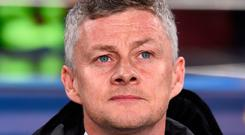 Manchester United's Norwegian coach Ole Gunnar Solskjaer. Photo: AFP/Getty Images