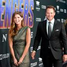 Katherine Schwarzenegger and Chris Pratt attend the world premiere of Walt Disney Studios Motion Pictures