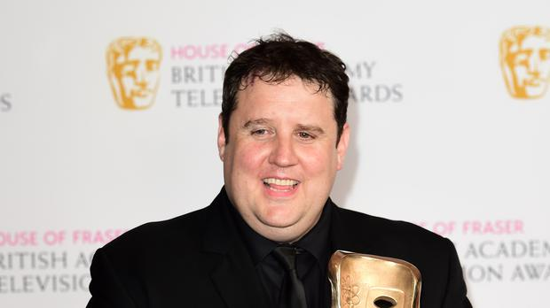 Celebrity Charity: Peter Kay has been spotted on a Blackpool tram (Ian West/PA)