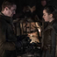 Gendry and Arya Stark in Game of Thrones, HBO