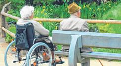 Fair Deal?: Forcing our elderly to pay for their age-related illnesses with their homes needs to be addressed. Photo: Stock