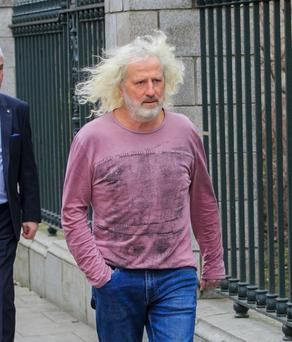 Seat: Mick Wallace named Patrick Kent as one of his five replacements. Photo: Collins