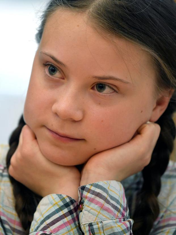 Activist Greta Thunberg. Photo: Reuters