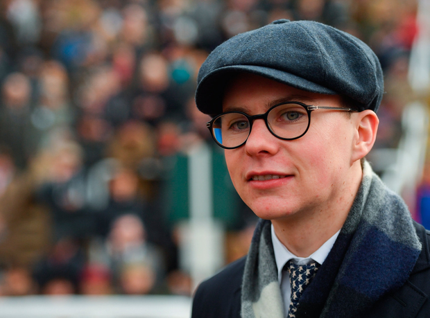 """O'Brien: """"When things fall his way he's a good horse and when things don't go his way he tends to sulk a little bit and he gives up. Thankfully, things fell his way."""" Photo by Seb Daly/Sportsfile"""