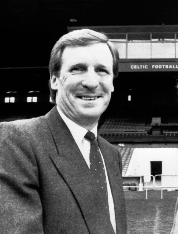 Success: Billy McNeill as Celtic manager back in 1987. Photo: PA/PA Wire.