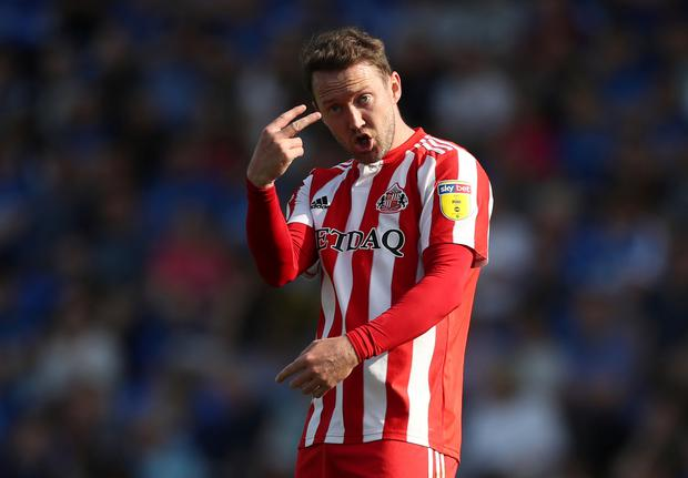 Sunderland's Aiden McGeady. Action Images/Lee Smith