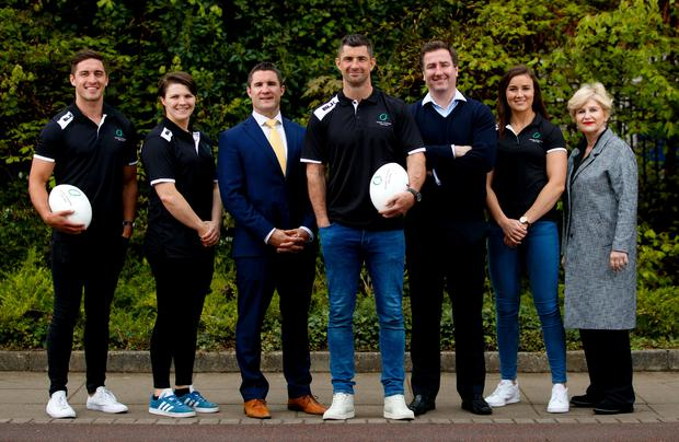 Pictured today is (L-R) Greg O'Shea, Executive Board Member, Ciara Griffin, Executive Board Member, Simon Keogh CEO, Rob Kearney Chairman, Peter McKenna, Independent Board Member, Louise Galvin Executive Board Member, Maura Quinn, Independent Board Member INPHO/James Crombie