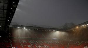 Manchester United v Manchester City - Old Trafford, Manchester, Britain - April 24, 2019 General view inside the stadium before the match Action Images via Reuters/Carl Recine