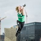 A Coyle spring: Two-time Olympic Pentathlete Natalya Coyle in Dublin yesterday at the launch of Indeed's partnership with the Irish Olympic team for Tokyo. Photo: Billy Stickland/INPHO