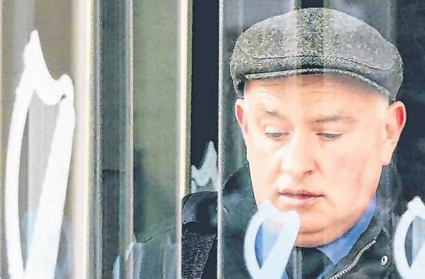 Pleaded not guilty: Patrick Quirke departs the Criminal Courts of Justice. Photo: Gerry Mooney