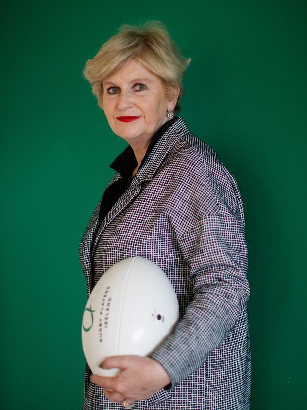 Calibre: Maura Quinn (pictured) and Louise Galvin have joined the board of Rugby Players Ireland. Photo: INPHO/James Crombie