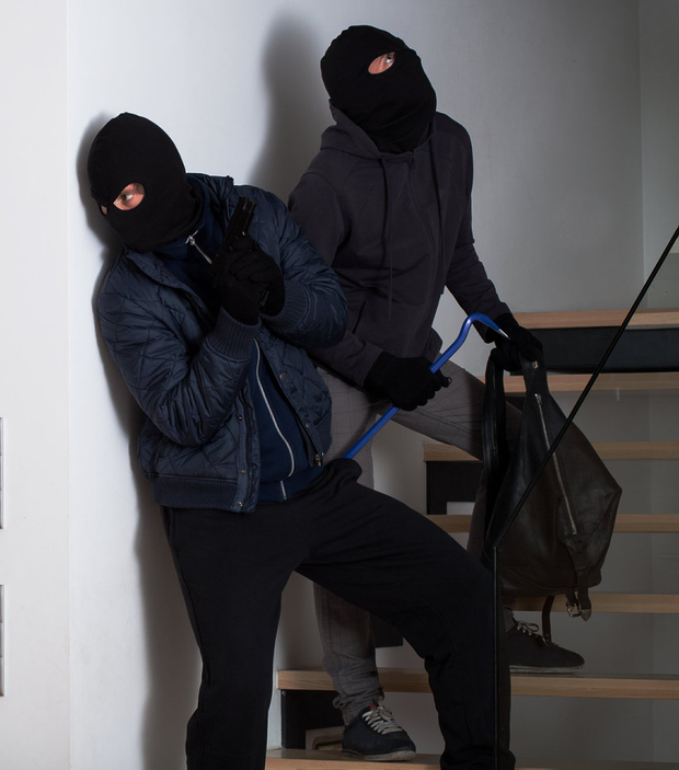 Gardai are hunting for an armed gang who terrorised the elderly couple. (Stock picture)