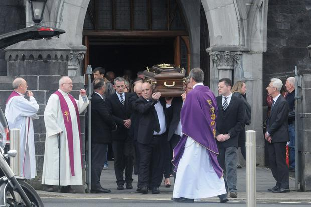 The funeral of Carmel Collins took place on Wednesday morning. Photo: Press 22