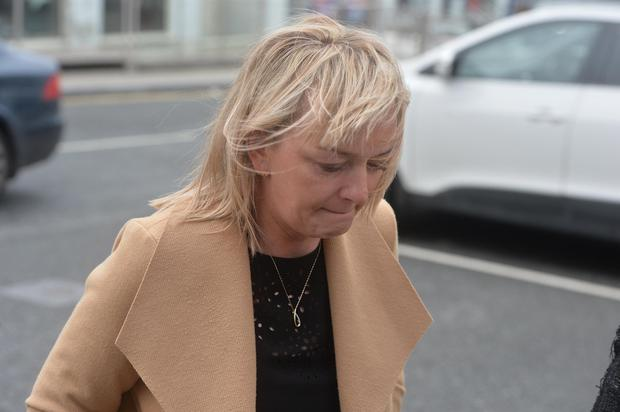 Out to prevent future deaths like this: Sandra Broderick, wife of John, at his inquest in Mallow yesterday. Photo: Provision