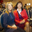 Delegates: Adrieanne Healy and Mary Ohle, from the Dublin North West branch, at the ASTI conference in Wexford. Photo: Mary Browne