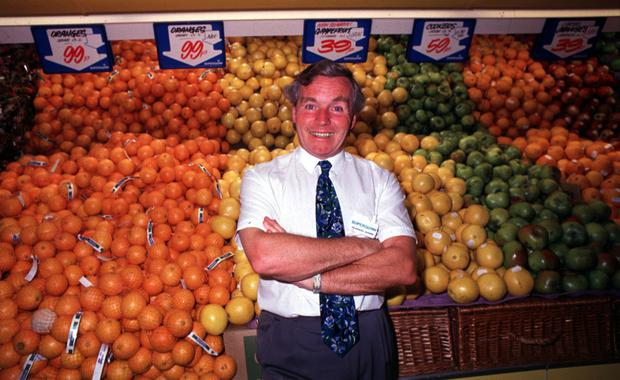 Superquinn founder Feargal Quinn in one of his stores. Photo: RollingNews.ie