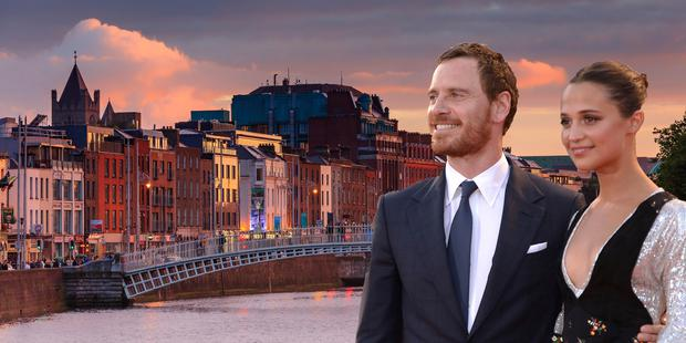 Michael Fassbender and wife Alicia Vikander have been residing in Ireland in recent weeks