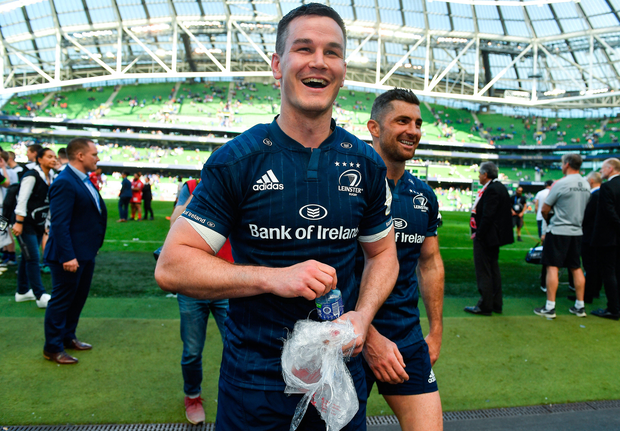 Johnny Sexton showed what he could do best on Sunday. Photo: Sportsfile