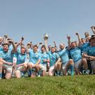 Garryowen celebrate their Bateman Cup victory