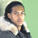 A 20-year-old Virgil van Dijk poses for a portrait during his spell at FC Groningen. Photo: Getty Images