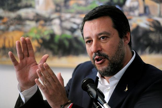 Political row: Matteo Salvini. Photo: Reuters