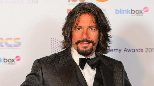 Laurence Llewelyn-Bowen was praised for his painting (Dominic Lipinski/PA)