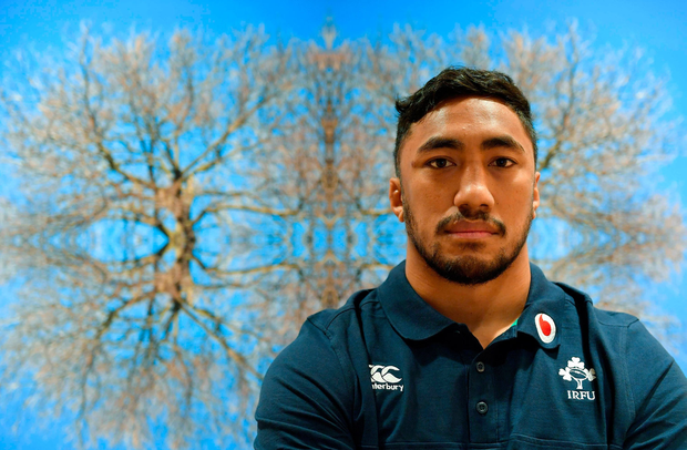 'Respect for everyone': Bundee Aki said he immediately 'unliked' Israel Folau's post when he realised what it was about. Photo: Sportsfile