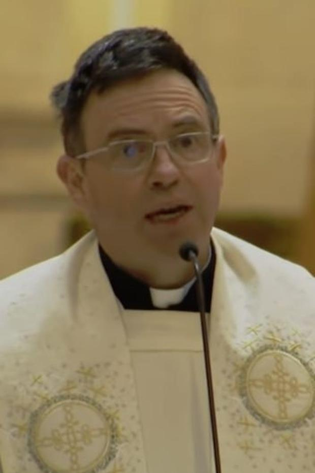 Fr Martin Magill made a powerful call to politicians