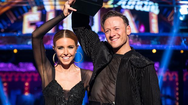 Stacey Dooley and Kevin Clifton on last year's Strictly Come Dancing (Guy Levy/PA)